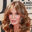 Jaclyn Smith's Feathered Hairstyle