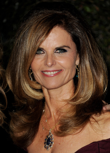 Maria Shriver's Ombre Color