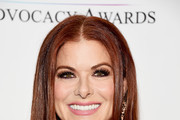 Actress Debra Messing arrives at The Creative Coalition's 2018 Television Industry Advocacy Awards at the Sofitel Los Angeles at Beverly Hills on September 15, 2018 in Los Angeles, California.