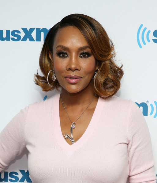 Vivica A. Fox's Short Curls