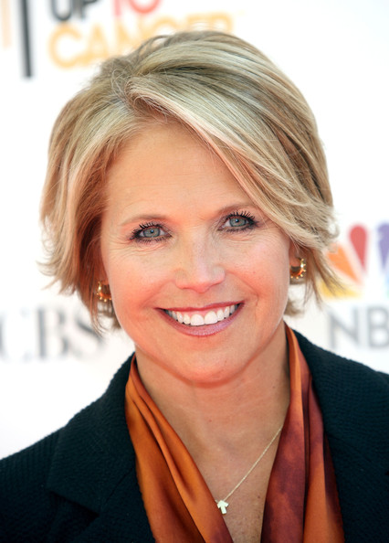 Katie Couric's Cropped Haircut