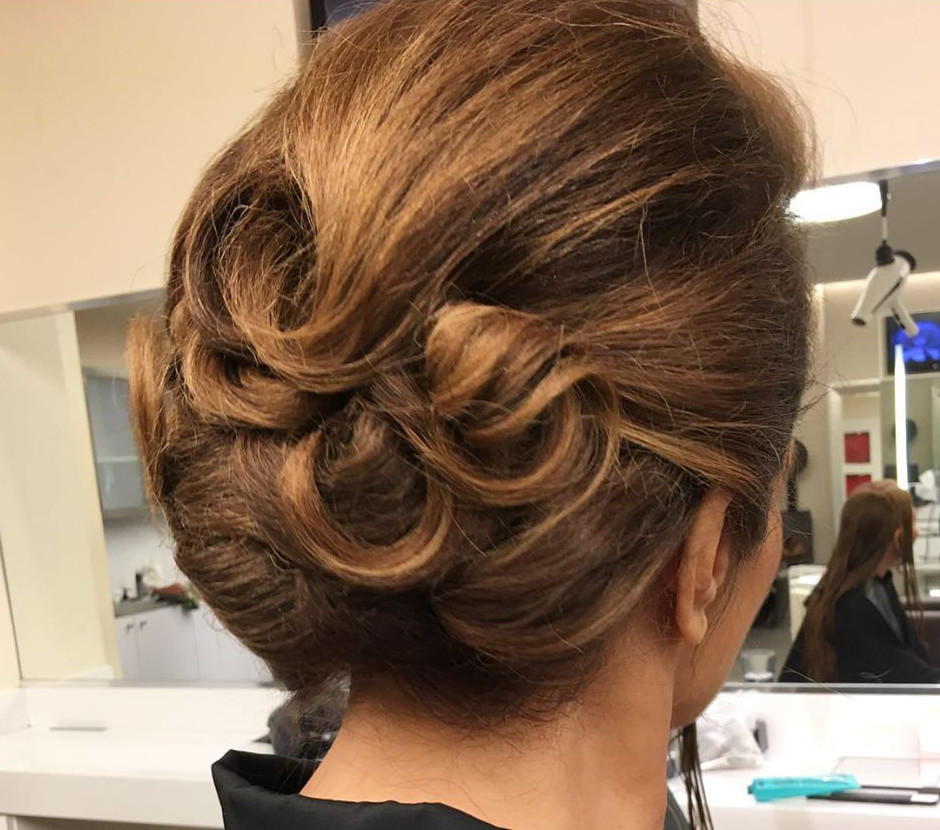 Frozen Curls - Gorgeous Updos For Women Over 50 - It's Rosy