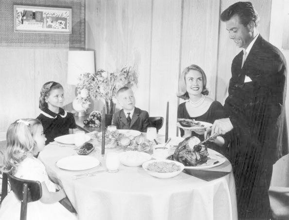 It Was Formal Family Meals