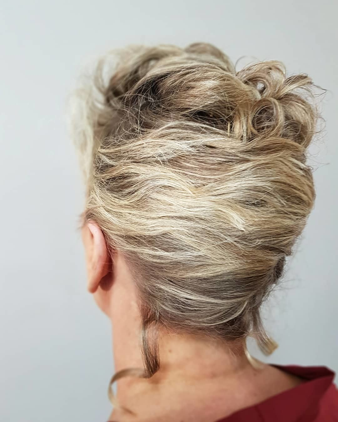 A Short French Twist - Gorgeous Updos For Women Over 50 - It's Rosy