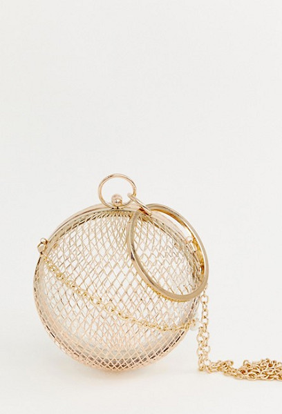 Cage Sphere Clutch