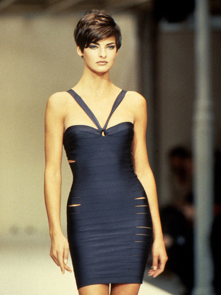 Linda Evangelista, Back Then