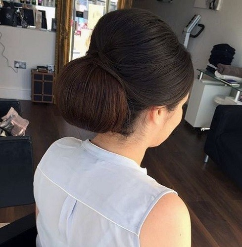 Soft Updo Look