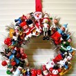 Wooden Toy Wreath