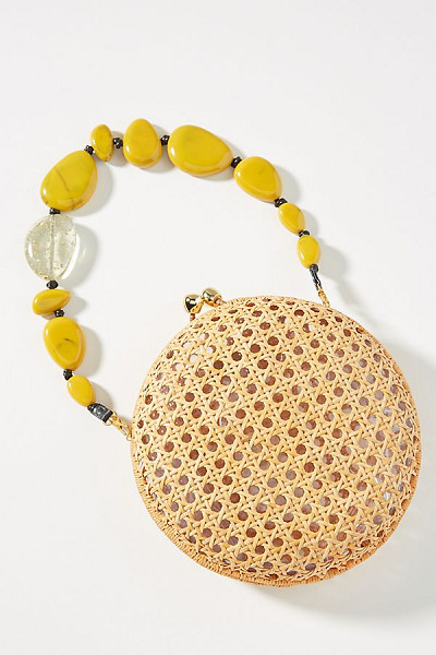 Wicker Circle Bag