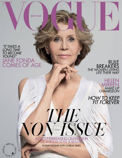British Vogue's 'Non-Issue' Celebrates Women Over 50