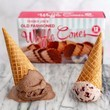 Old-Fashioned Waffle Cones
