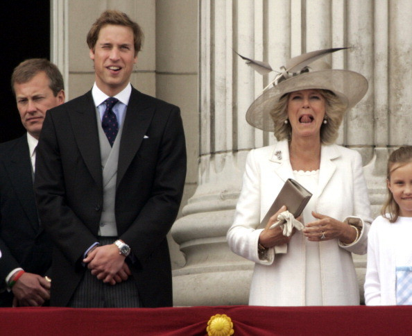 The First Trooping The Colour As HRH