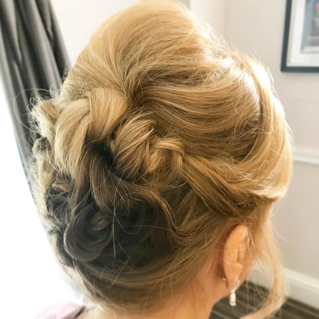 Twisted Updo - Gorgeous Updos For Women Over 50 - It's Rosy