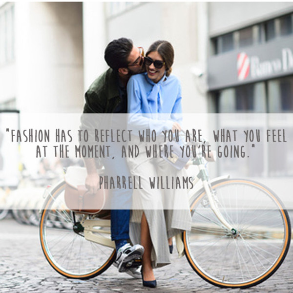 Pharrell Williams 'Where You're Going' Quote