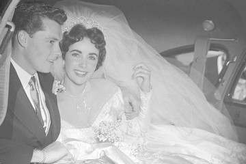 See The Wedding Dresses Of Liz, Audrey, Marilyn And More