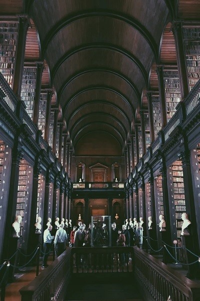 Visit Trinity College Library